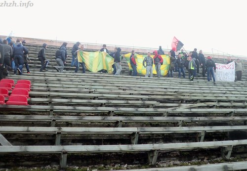 Фанаты Полесье в  Житомире